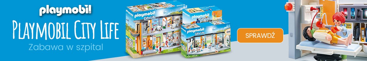 City Life Szpital z Playmobil