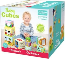 Baby cubes - Na farmie - Little planet