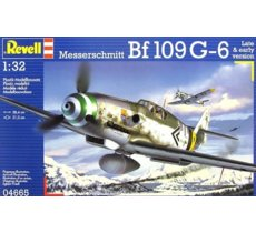 Messerschmitt Bf1 09 G-6 Late & early version