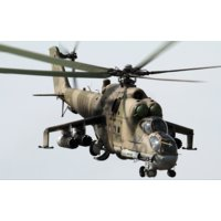 MIL Mi-24P HIND-F Attack Helicopter