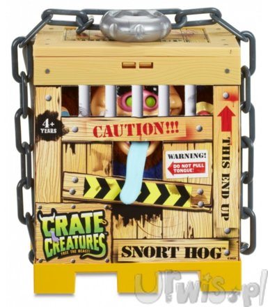 Maskotka Crate Creatures Surprise, Snort Hog