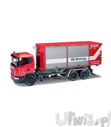 HERPA Scania R roll-off Container Truck