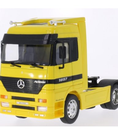 WELLY Mercedes-Benz Actr os (yellow)