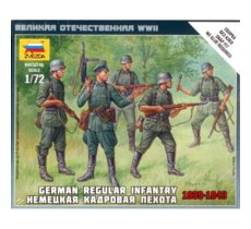 German Regular Infantry 1939-43