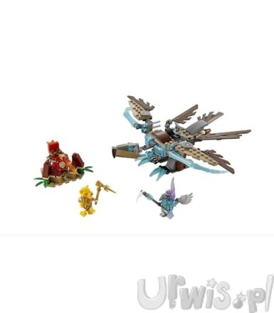 Lego Chima Vardy's Ice Vulture Glider 70141