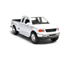 Model kolekcjonerski 1999 Ford F-150 Flareside Supercab Pick Up, biały