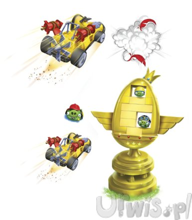 HASBRO Gra Angry Birds Go Trophy Cup Challenger