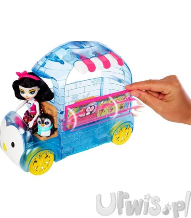 Enchantimals Wheel Frozen Preena Penguin