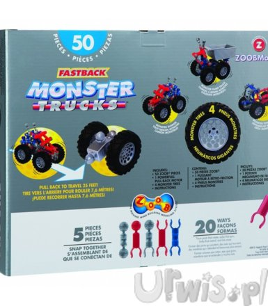 ZOOB Mobile fastback Monster Trucks