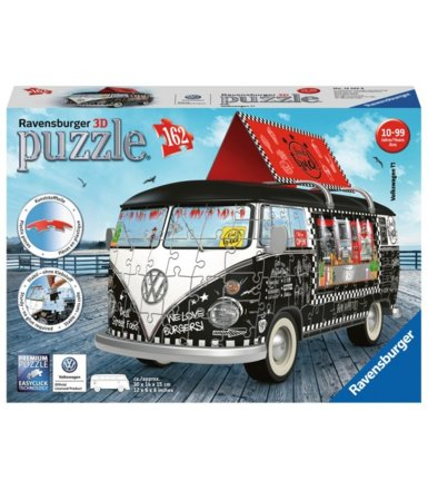 Puzzle 162 elementy 3D VW Bus Food Truck