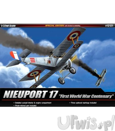 ACADEMY Nieuport 17 'WWI 100 TH Annivers