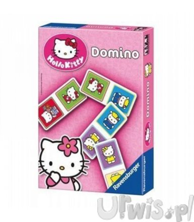 RAVEN. Gra Domino Hello Kitty