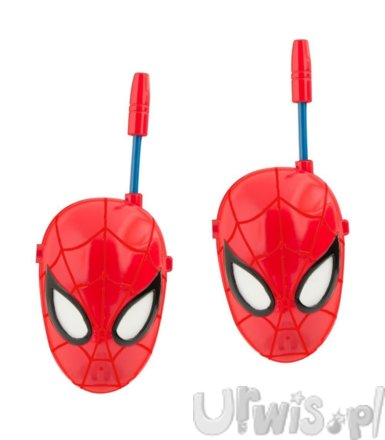 WALKIE TALKIE SPIDERMAN FACE 2,4 GHZ