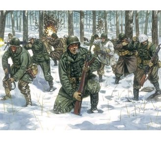 US Infantry in Winter Uniforms