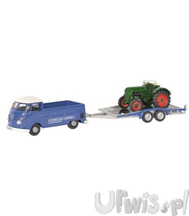 Volkswagen T1c Pick-up with Trailer and Allgaier tractor