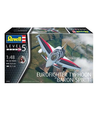Model plastikowy Eurofighter Typhoon Baron S 1/48