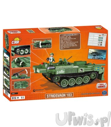 Armia /3023/ Wot Stridsvagn 103 (S-Tank)