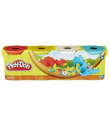 PlayDoh 4 Tuby, Classic Colors