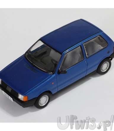 Fiat Uno 1983 (metallic blue)