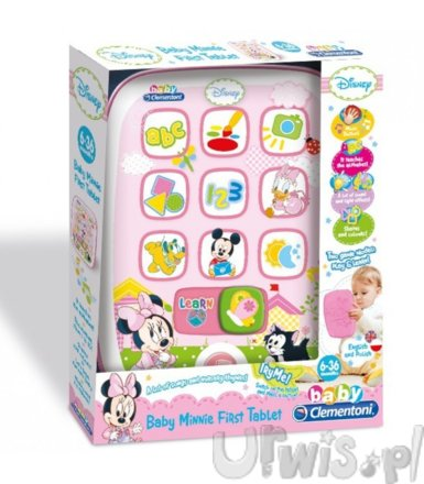 Clementoni Minnie tablet