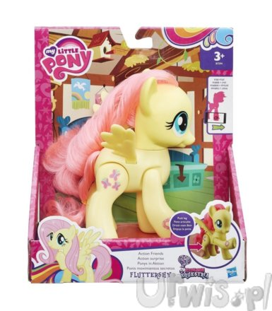 My Little Pony Action Friends Fluttershy