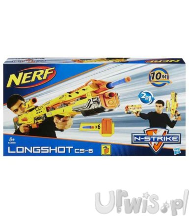 Nerf N-Strike Longshot CS-6 new