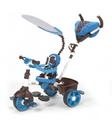 Little Tikes 4-in-1 Sports Edition Trike (Blue)