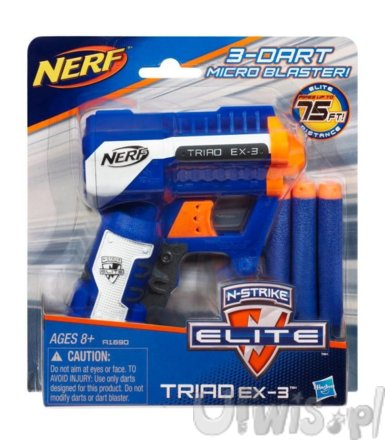 NERF Triad EX-3 Elite