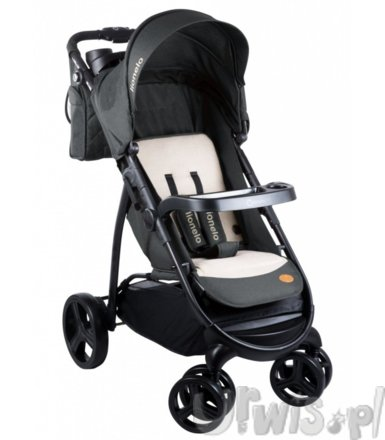 Lionelo Wózek spacerowy Elise dark grey