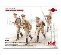 WWI Russian Infantry ( 4 figures)