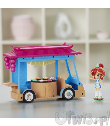 My Little Pony EG Mini Zestaw Sushi Truck Sunset Shimmer
