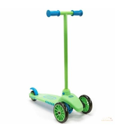 Little Tikes Lean to Turn Scooter - Green/Blue