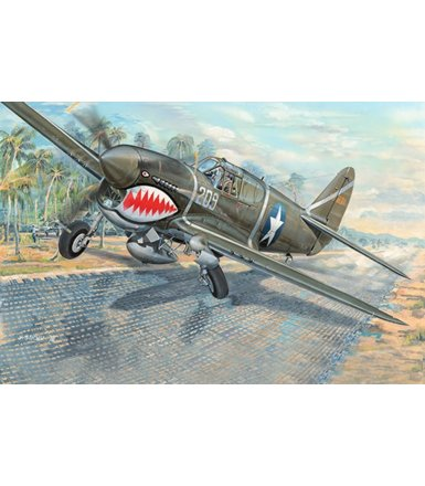 Model plastikowy P-40F War Hawk