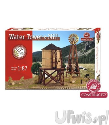 CONSTRUCTO Set water tow er   mill