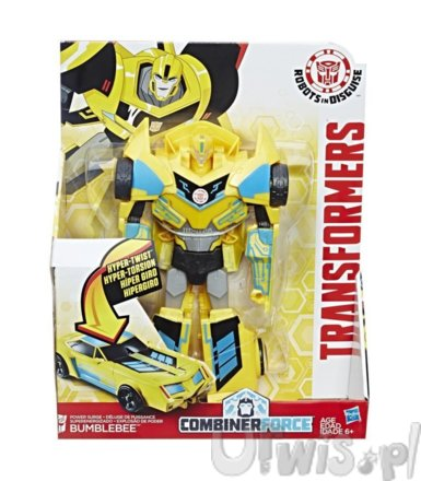 TRANSFORMERS 3-STEP CHANGERS BUMBLEBE