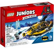 LEGO Juniors Batman kontra Mr.Freeze GXP-625924