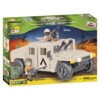 Klocki Small Army NATO Armored ALL-Terrain Vehicle Desert Sand