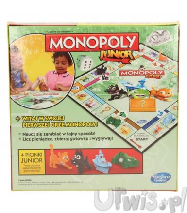 Hasbro Gra Monopoly Junior new