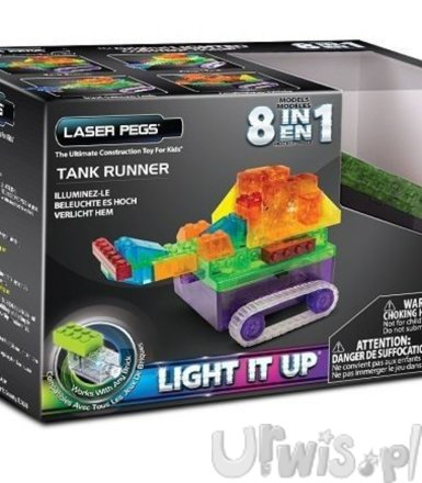 LASER PEGS 8 in 1 Tank Runner
