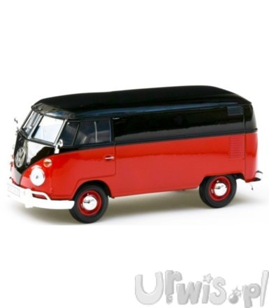 Volkswagen T1 Box Wagon (black/red)