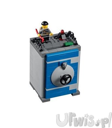 Lego CITY Coin Bank 40110