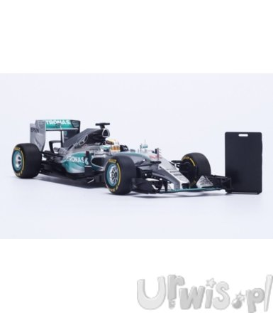 Mercedes W06 #44 Lewis Hamilton Winner US GP 2015 World Champion 2015 (with Pit Board)