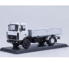 MAZ-5337 Flatbed Truck (grey)