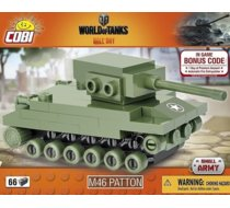 Small Army 66 elementów M46 Patton Nano Tank