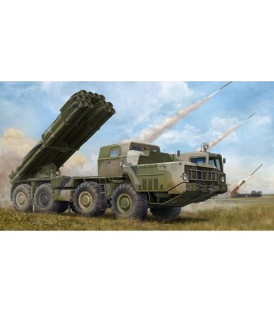 TRUMPETER Russian 9A52-2 Smerch-M multip