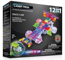 LASER PEGS 12 in 1 Race Car