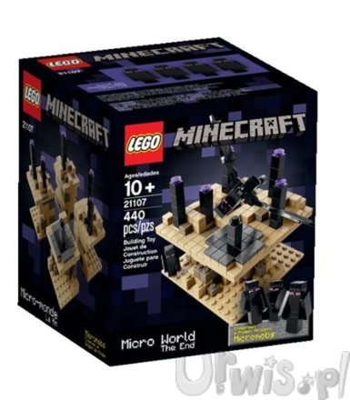 LEGO Minecraft Micro World The End L-21107