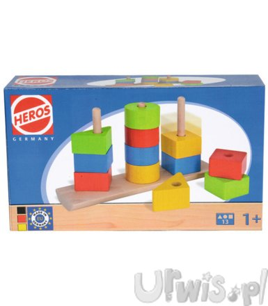 Heros HEROS Shapes Stacking Puzzle