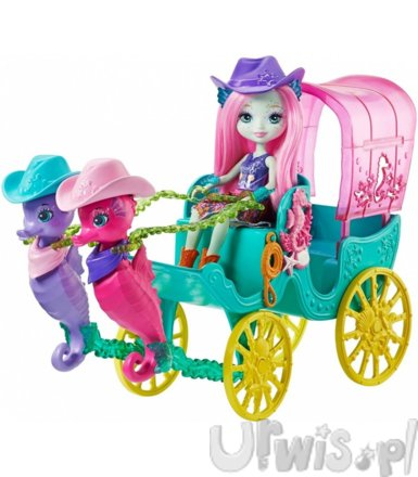 ENCHANTIMALS Seahorse Carriage Sandella