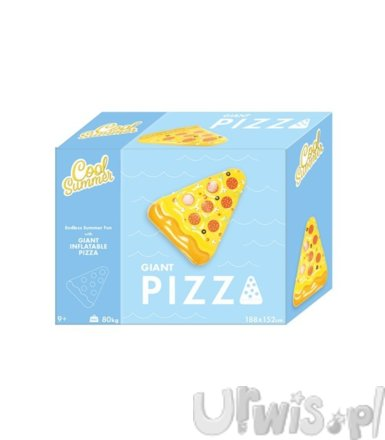 Tm Toys Materac dmuchany pizza